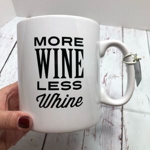 HUGE - More Wine Less Whine 32 oz. Mug